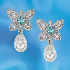 The Concorde Collection Dance Of The Butterflies Earrings