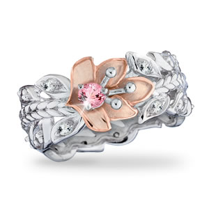 Hope For The Cure Believe In Miracles Ring