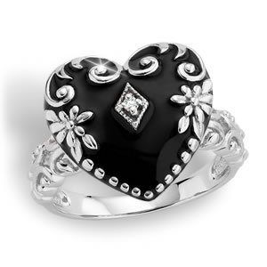 The Concorde Collection Victorian Lovers Diamond Ring