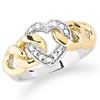 Chain Of Love Diamond Ring