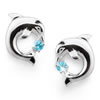 Dance of the Dolphins Sterling Silver Earrings