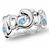 Dance Of The Dolphin Eternity Ring