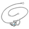Dolphin Heart Anklet