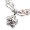 First Lady Cherry Blossom Diamond And Pearl Necklace