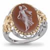 Goddess Of Love Cameo Ring