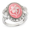 Hope For The Cure Believe In Miracles� Cameo Ring