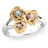 Jewels Of Spring Flower Ring