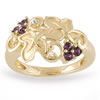 Louis C. Tiffany Inspired Grapevine Ring