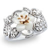 Miracle Of Night Moonflower Ring