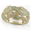 "Believe In Miracles® ""A New Leaf"" Ring"