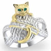 Purr-fect Companion Diamond Ring