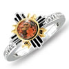 """Miracles Of The Desert Sky"" 1/2 Carat Fire Opal Ring"