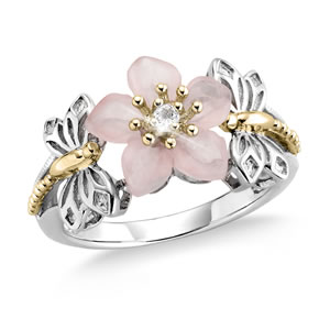 Believe In Miracles® Desert Rose Ring