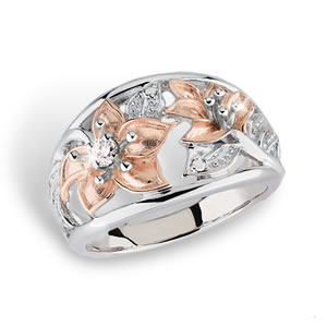 Mothers and Daughters<br>Hope For The Cure Believe In Miracles® Ring