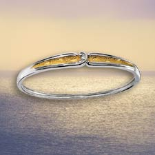 Footprints In The Sand ® Diamond Bracelet