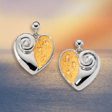 Footprints in the Sand® Diamond Earrings