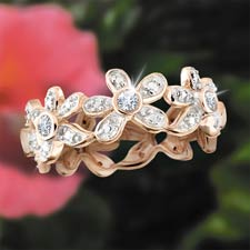 Hawaiian Sunset Eternity Ring