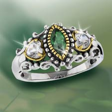 Irish Blessing Lover's Ring