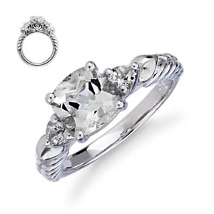 Miracle Of Love Engagement Ring