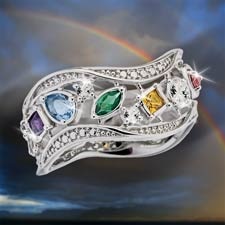 """Over The Rainbow"" Ring"