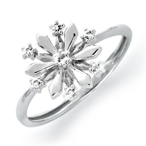 First Snowflake Ring