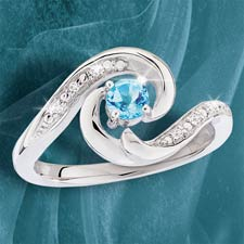 South Pacific Wave Ring