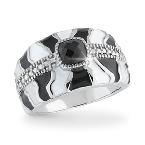 Wild About Zebra Prints! Ring
