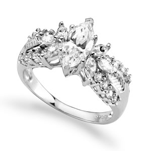 The Concorde Collection Evening Extravagance 2 Carats Of Sparkling Cz