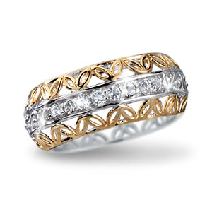 The Concorde Collection Love Everlasting Eternity Ring 1
