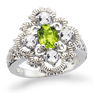 The Concorde Collection Mint Julep Southern Belle Ring 3