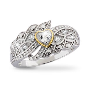 The Concorde Collection On The Wings Of Love Ring 1 2