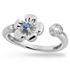 Forget-Me-Not Floral Wrap Ring