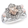 First Lady Cherry Blossom Diamond And Pearl Ring