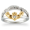 """Forever Yours"" Claddagh Ring"