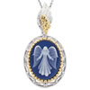 Guardian Angel Cameo Pendant