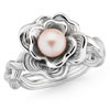 Hope For The Cure Pearl Ring