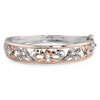 Hope's Embrace Jeweled Bangle Bracelet