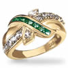 Irish Ribbon Ring Of Everlasting Love