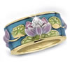 "Jeweled ""Water Lilies"" Ring"