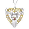Loving Heart Angel Pendant
