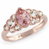 Pink Champagne Celebration Ring