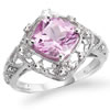 Girls' Night Out Pink Sapphire Ring