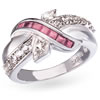 Ribbons Of Hope Ring