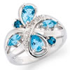 Rhapsody In Blue Ring