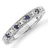 Royal Sapphire ¼ Carat Wedding Band