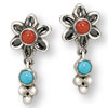 Spirit of the Desert Flower Sterling Silver Earrings