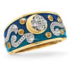 """Starry Night"" Jeweled Ring"