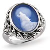 Solitude At Twilight Sterling Silver Ring
