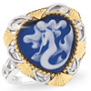 Mystical Mermaid Cameo Ring