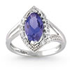 Tanzanite Temptation Marquise Ring